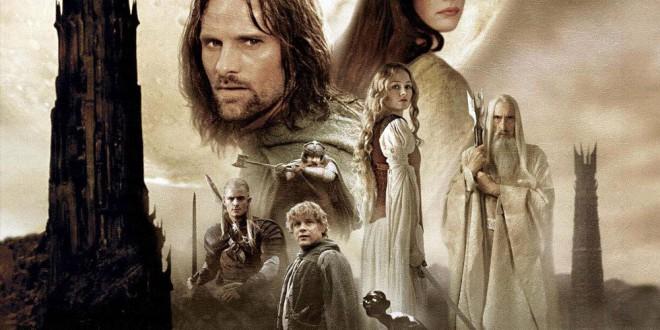 """Poster del film """"Il signore degli anelli - Le due torri"""""""
