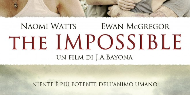 "Poster del film ""The Impossible"""