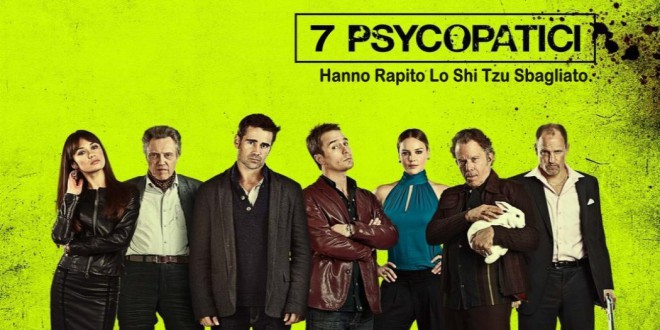 "Poster for the movie ""7 psicopatici"""