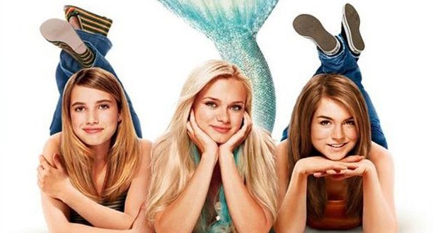 "Poster for the movie ""Aquamarine"""