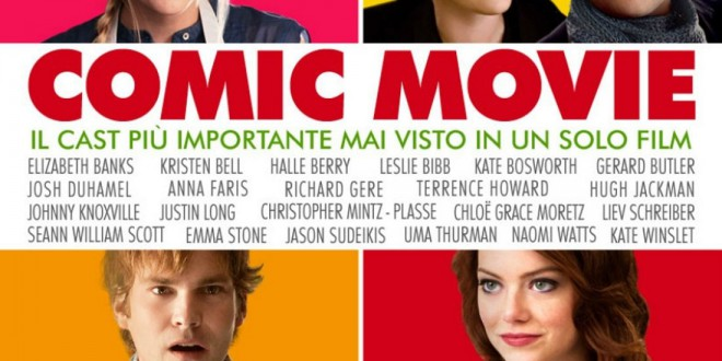 "Poster del film ""Comic Movie"""