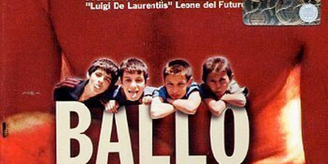 "Poster for the movie ""Ballo a tre passi"""