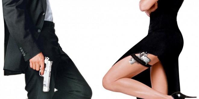 "Poster del film ""Mr. & Mrs. Smith"""