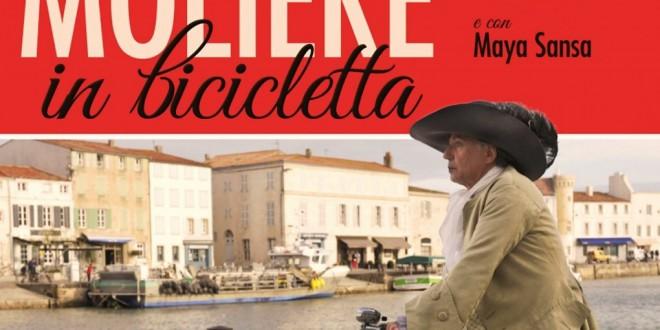 """Poster del film """"Molière in bicicletta"""""""