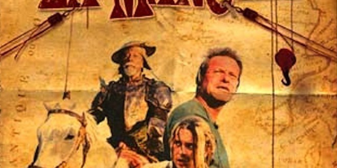 "Poster del film ""Lost in La Mancha"""