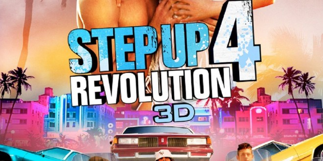 "Poster del film ""Step Up 4 Revolution 3D"""