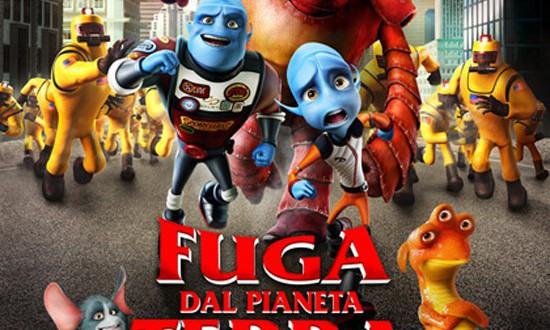 "Poster del film ""Fuga dal pianeta Terra"""