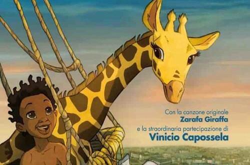 """Poster del film """"Le avventure di Zarafa - Giraffa giramondo"""""""