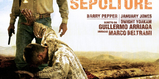 "Poster del film ""Le tre sepolture"""
