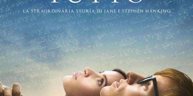"""Poster del film """"La teoria del tutto"""""""