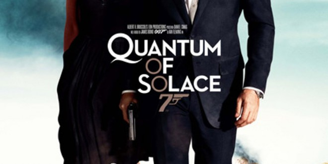 "Poster del film ""Quantum of Solace"""