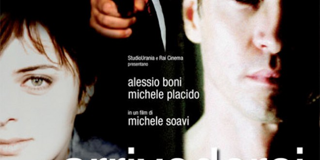 "Poster for the movie ""Arrivederci amore, ciao"""
