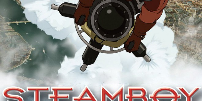 "Poster del film ""Steamboy"""
