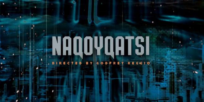"Poster del film ""Naqoyqatsi"""