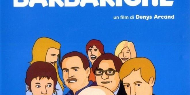 """Poster del film """"Le invasioni barbariche"""""""