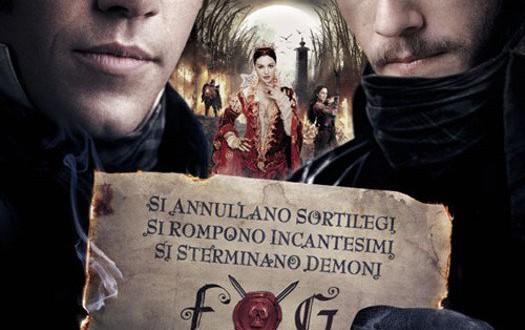 "Poster del film ""I fratelli Grimm e l'incantevole strega"""
