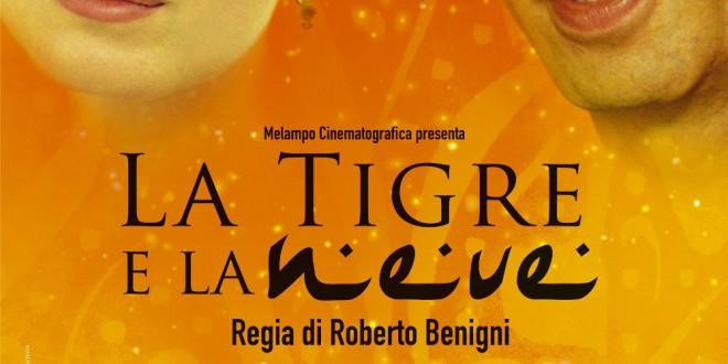 """Poster del film """"La tigre e la neve"""""""