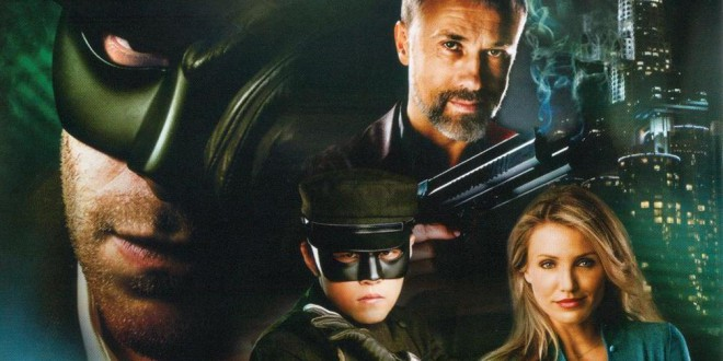 "Poster del film ""The Green Hornet"""