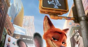 """Poster del film """"Zootropolis"""""""