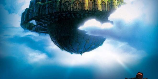 """Poster del film """"Il castello nel cielo"""""""