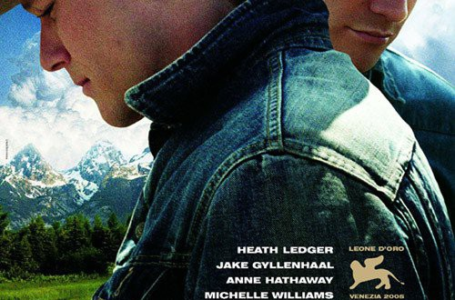 "Poster del film ""I segreti di Brokeback Mountain"""