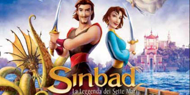 "Poster del film ""Sinbad - La leggenda dei sette mari"""