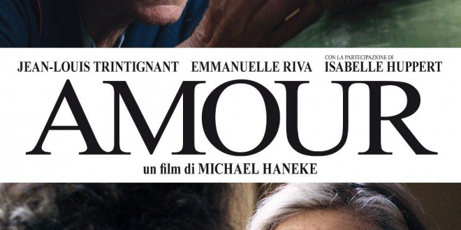 "Poster for the movie ""Amour"""