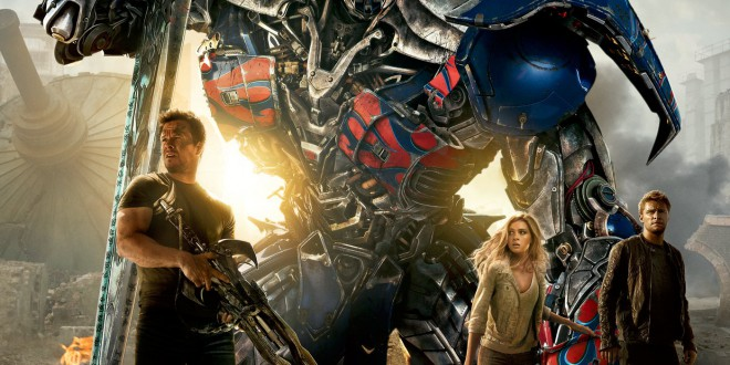 "Poster del film ""Transformers 4 - L'era dell'estinzione"""