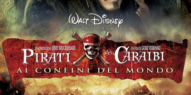 """Poster del film """"Pirati dei Caraibi - Ai confini del mondo"""""""