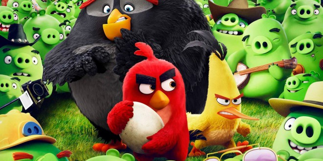 "Poster for the movie ""Angry Birds - Il film"""
