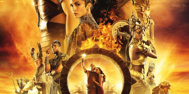"Poster del film ""Gods of Egypt"""