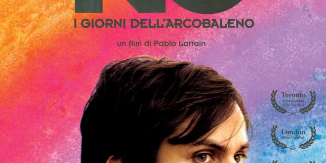 """Poster del film """"No - I giorni dell'arcobaleno"""""""