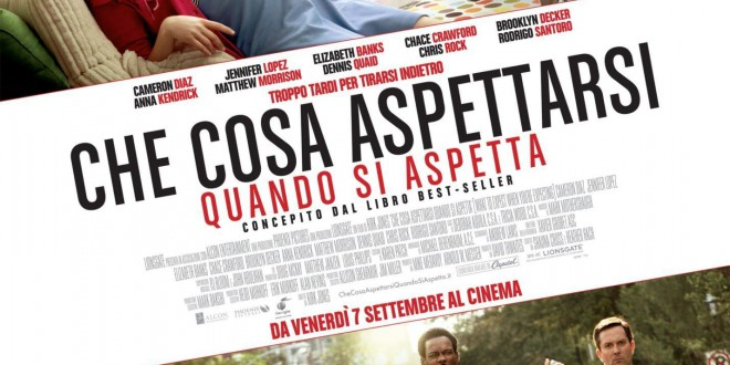 "Poster for the movie ""Che cosa aspettarsi quando si aspetta"""