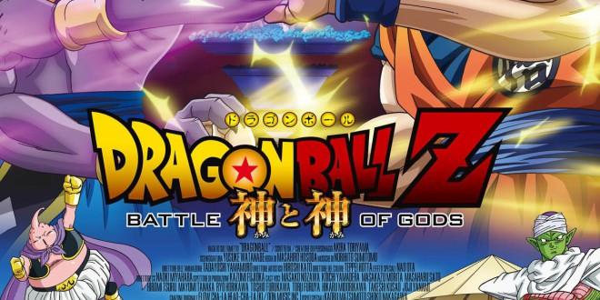 """Poster del film """"Dragon Ball Z - La battaglia degli Dei"""""""