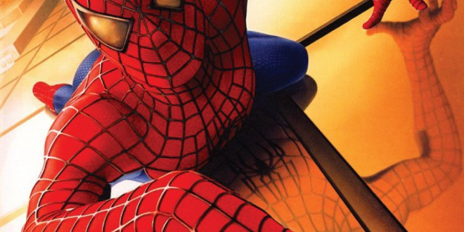 "Poster del film ""Spider-Man"""