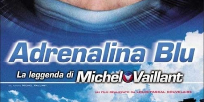 "Poster for the movie ""Adrenalina blu - La leggenda di Michel Vaillant"""