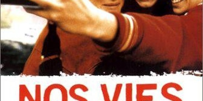 "Poster del film ""Nos vies heureuses"""
