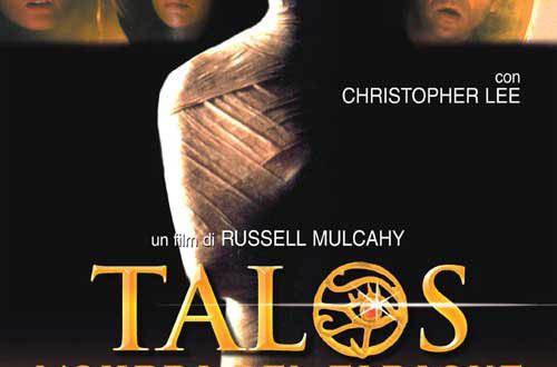 "Poster del film ""Talos - L'ombra del faraone"""
