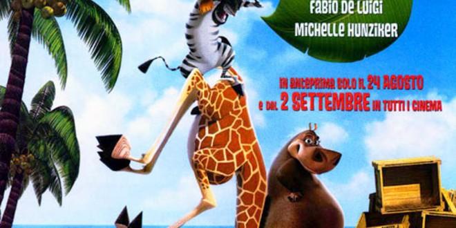 """Poster del film """"Madagascar"""""""