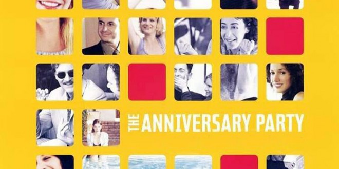 "Poster del film ""The Anniversary Party"""