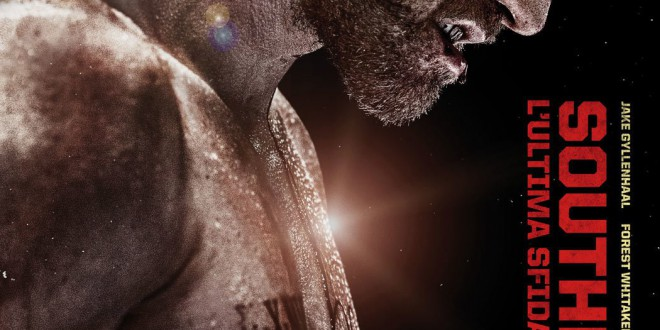 """Poster del film """"Southpaw - L'ultima sfida"""""""