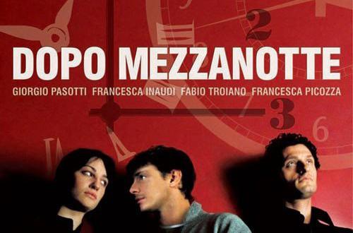 """Poster del film """"Dopo mezzanotte"""""""