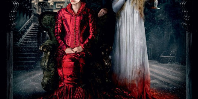 "Poster del film ""Crimson Peak"""