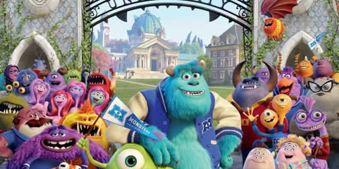 """Poster del film """"Monsters University"""""""
