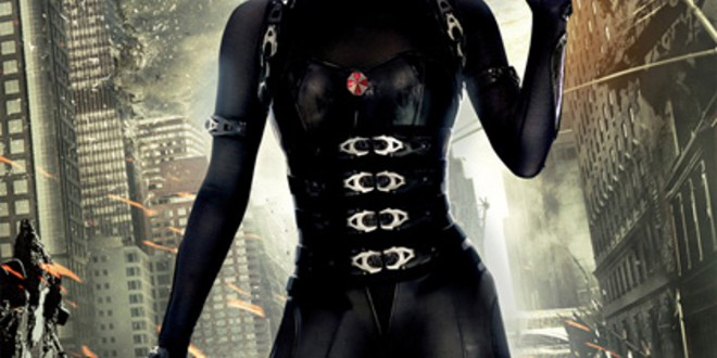 """Poster del film """"Resident Evil: Retribution"""""""