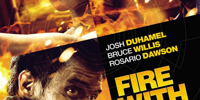 "Poster del film ""Fire with Fire"""