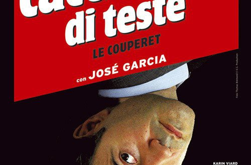 "Poster for the movie ""Cacciatore di teste"""