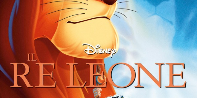 """Poster del film """"Il re leone"""""""