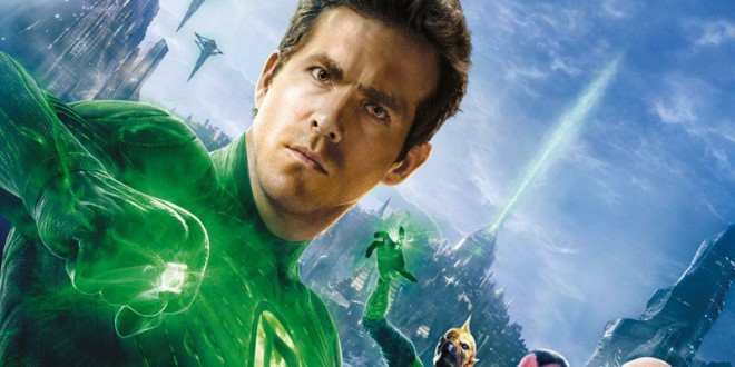 "Poster del film ""Lanterna verde"""