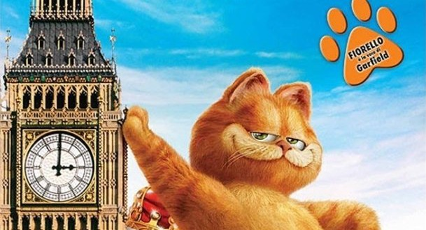 "Poster del film ""Garfield 2"""